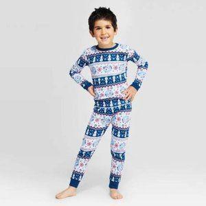 Toddler Frozen 2 Olaf Fair Isle 2 Piece PJ Set